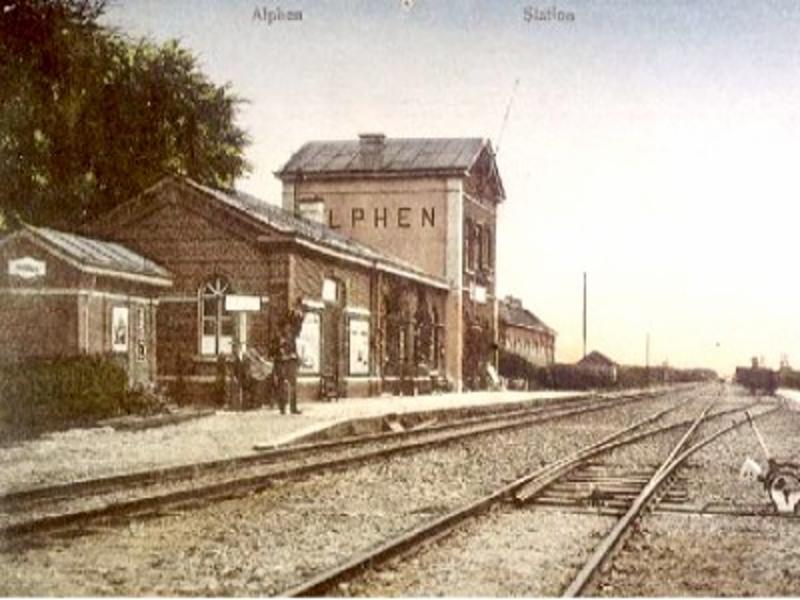 Bels lijntje station alphen 3