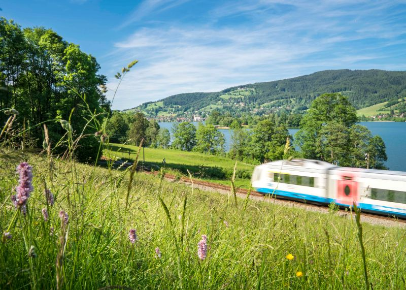 Bodensee-Köningssee - Die BOB in Fischhausen am Schliersee