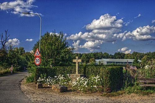 Wayside cross at Maastricht