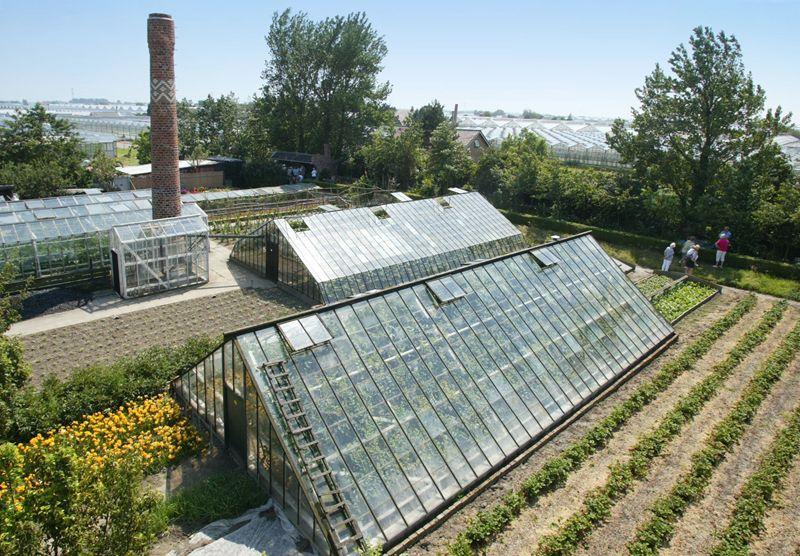 Kassen Historische tuin