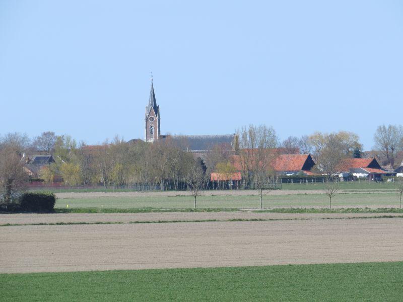 polder met uitzicht op Zonnemaire