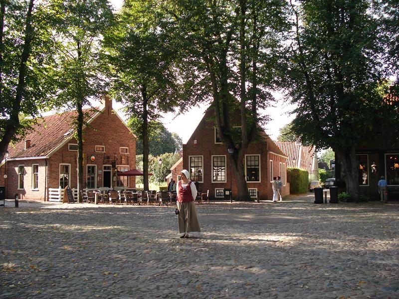 Bourtange, in het dorp.