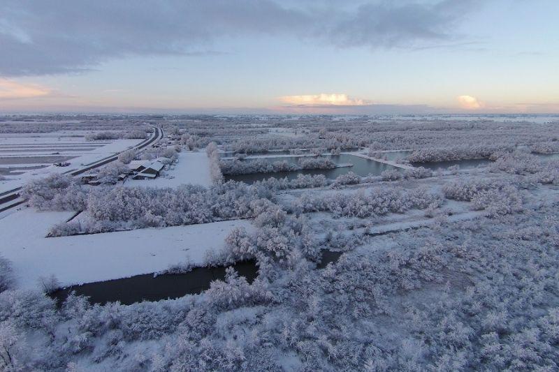 boswachterspad-rottige-meente-drone-winterlandschap