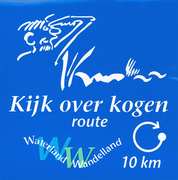 Kijk over de Kogenroute