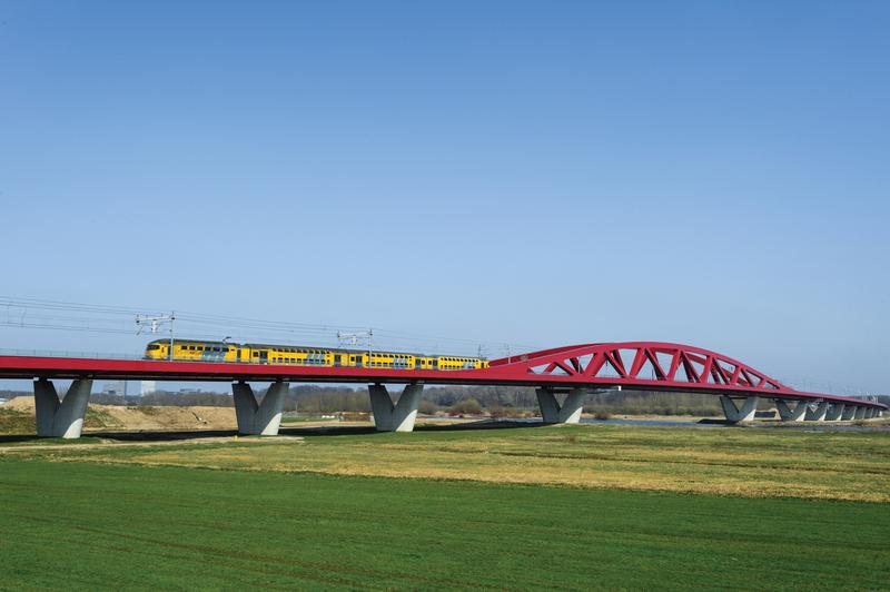 Spoorbrug IJssel nieuw
