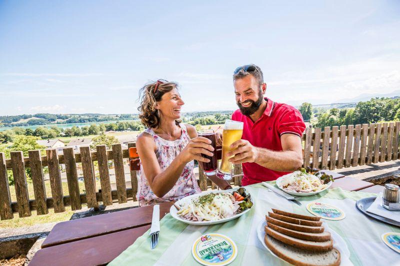Bodensee-Köningssee - Pause im Biergarten