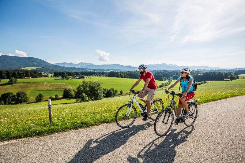 Bodensee-Köningssee - Radeln im Chiemgau
