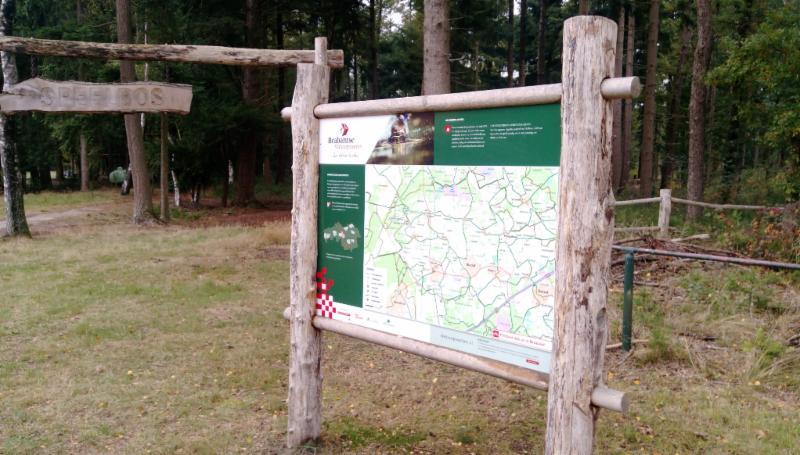 Informatiepaneel Natuurpoort de Spartelvijver