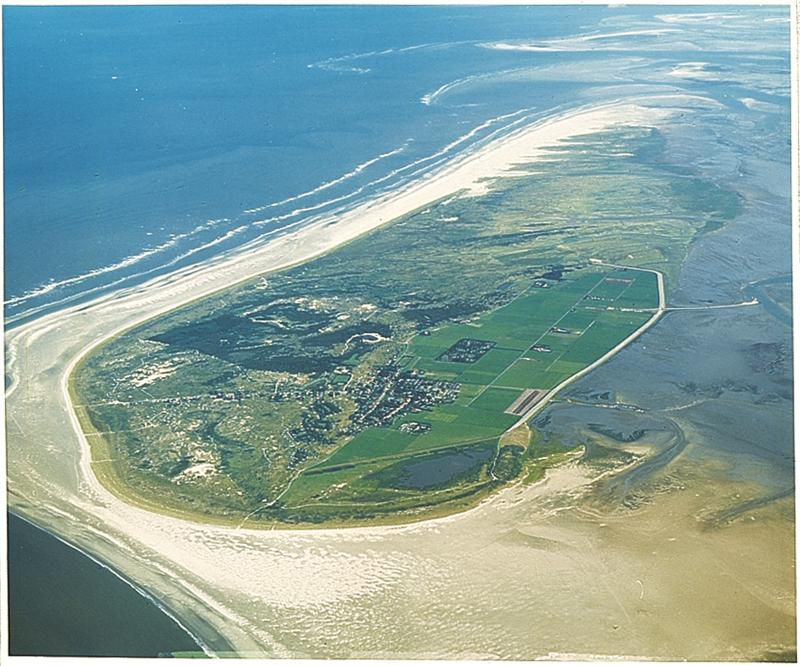 Het eiland Schiermonnikoog