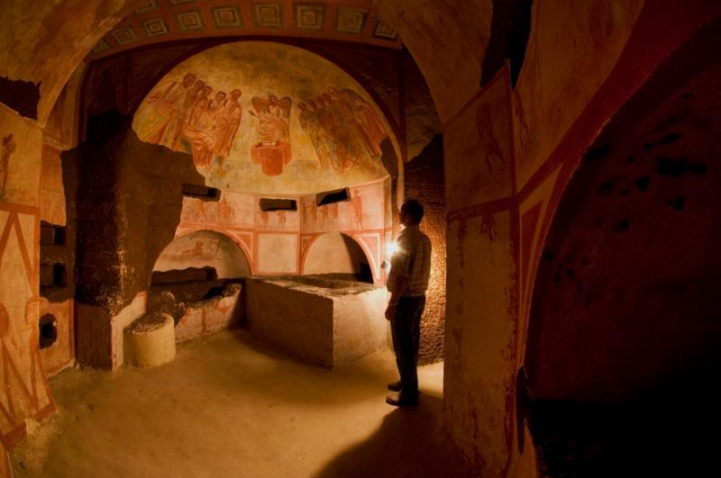 Romeinse Katakomben