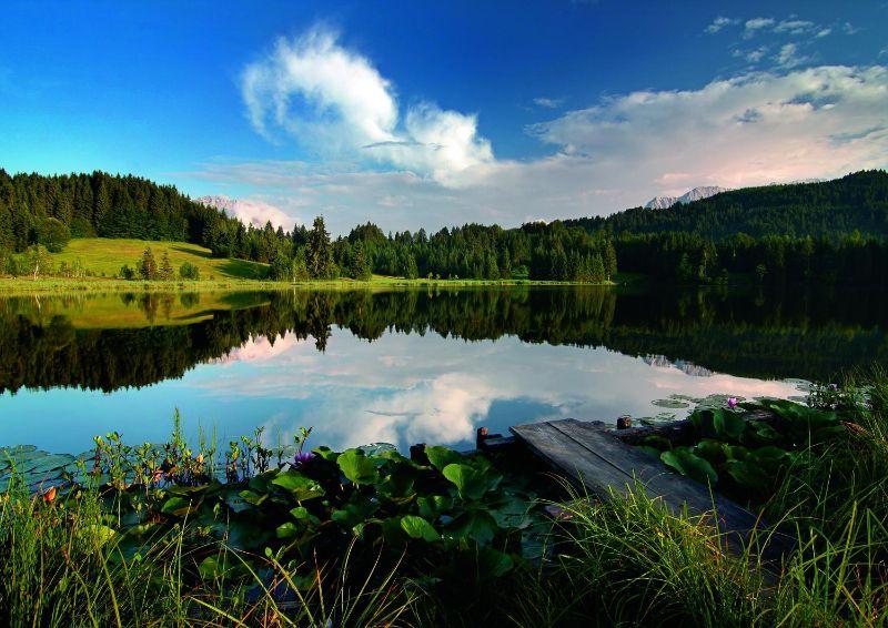 Alpenwelt Karwendel - Geroldsee_im_Sommer_1_1353_