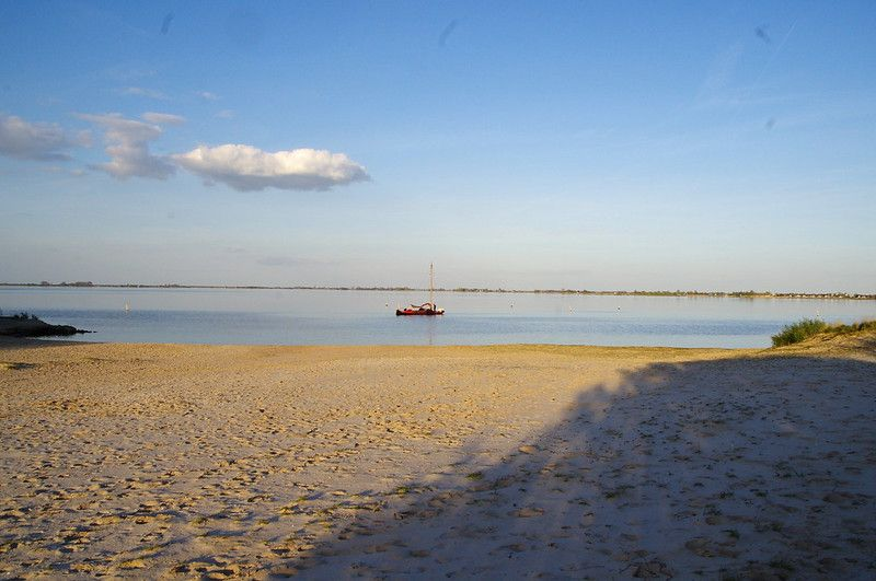 Caribian feeling in  the Tjeukemeer