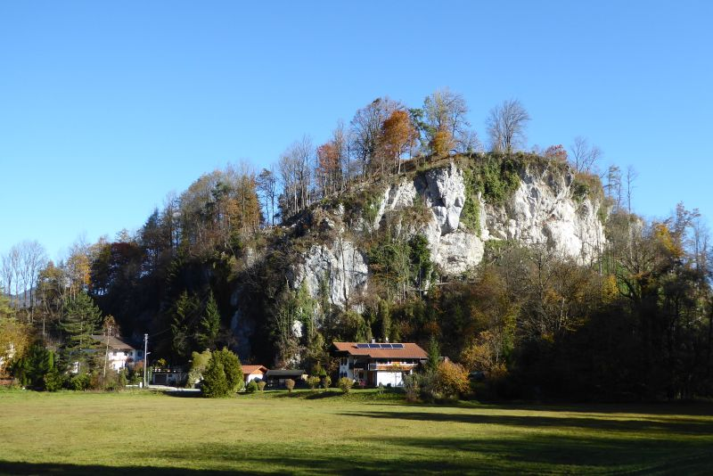 Oberaudorf - Zur Ruine Auerburg - Auerberg 13