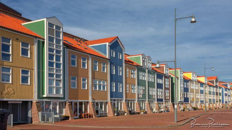 Kleurige huizen