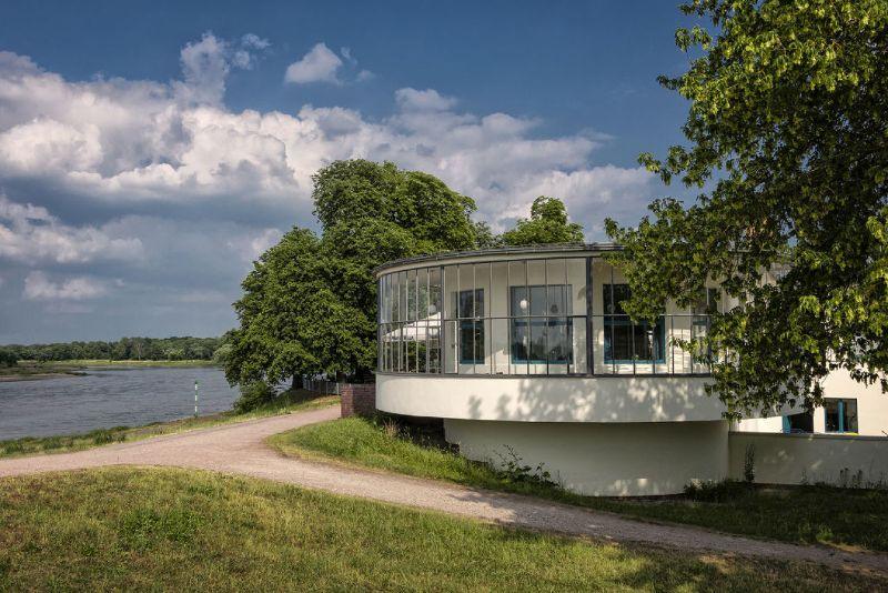 Bauhausroute - Kornhaus an der Elbe in Dessau-Roßlau-4621