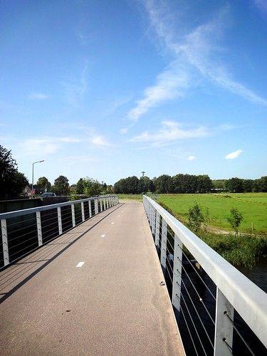 Fietsbrug over het Hilversums Kanaal