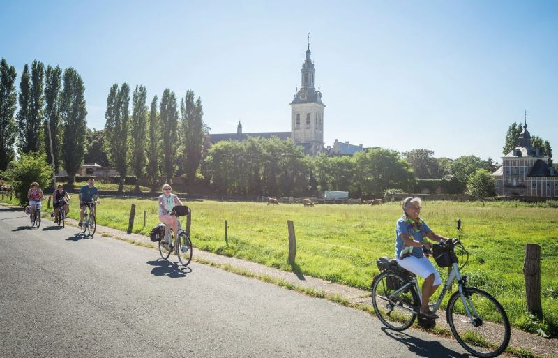 fietsen abdij van park