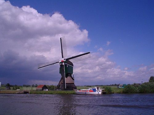 Windmill in Meerkerk