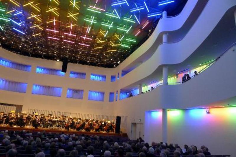 Concertzaal Tilburg, interieur