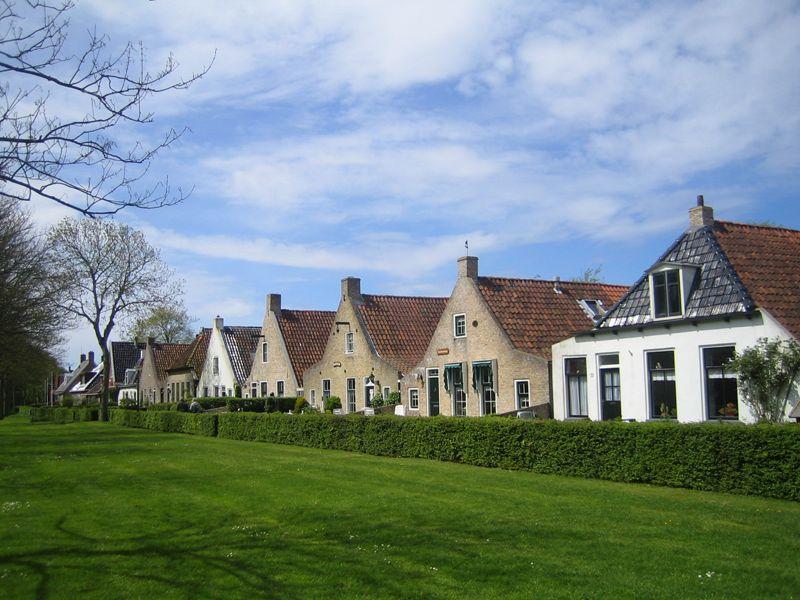 Huisjes op Schiermonnikoog