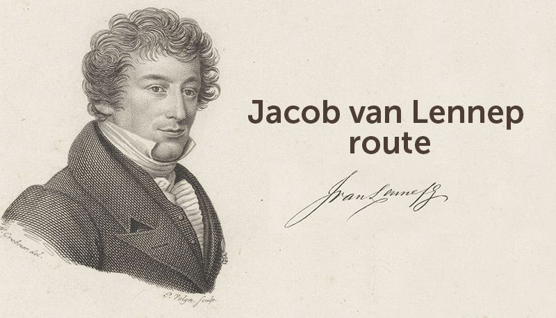 Jacob van Lennep route