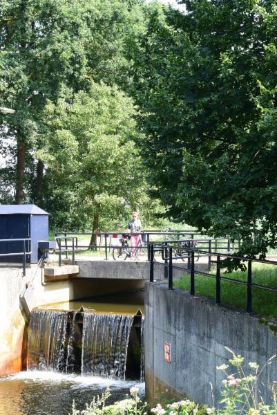 Sluis in kanaal Almelo-Nordhorn