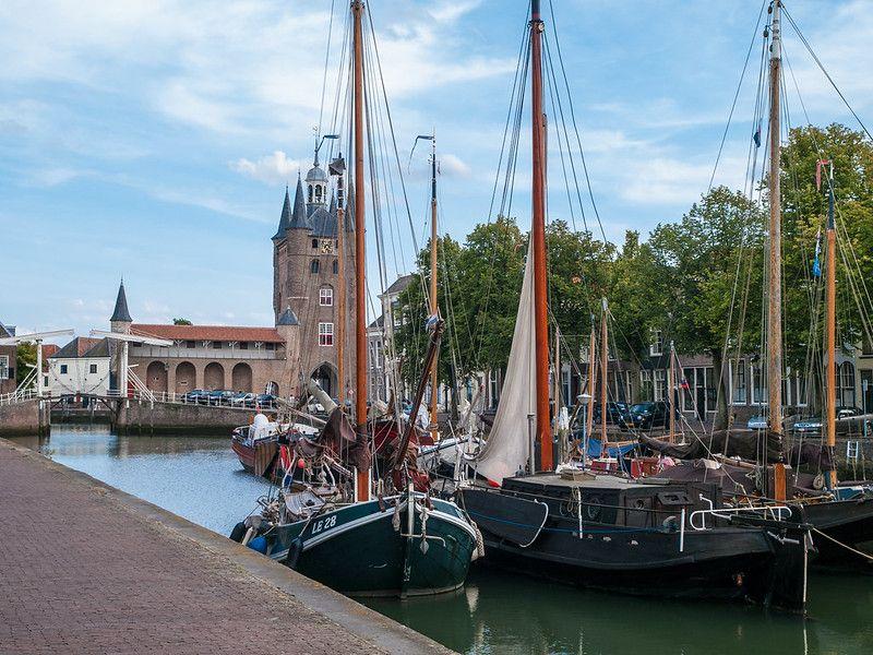 Zuidhavenpoort - Oude Haven - Zierikzee - Rijksmonument