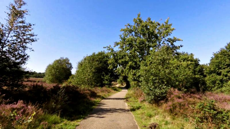 Fietsroute Uddel en omgeving