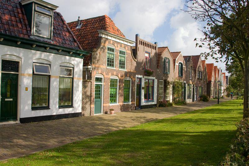 Huisjes op Texel