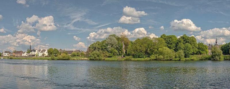 Panorama op Eijsden - Zuid-Limburg - NL