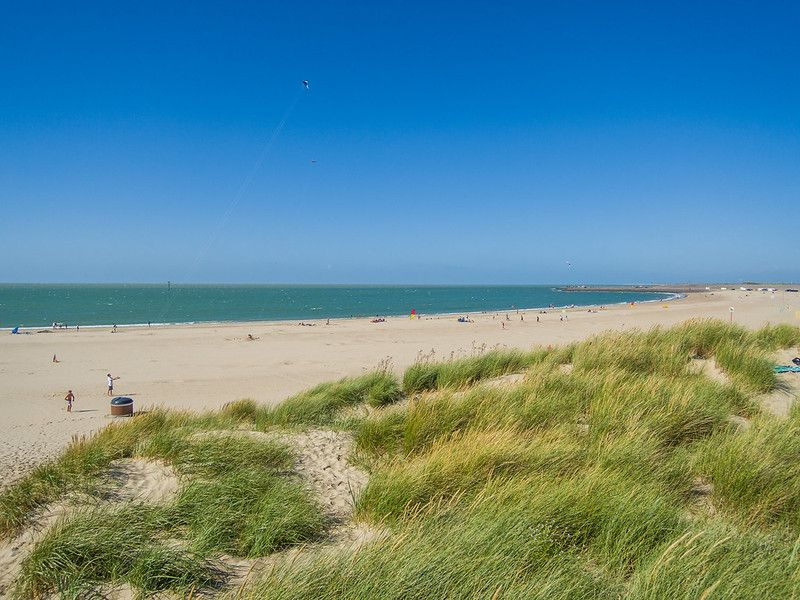 beach relax in Rennesse Holland Strand