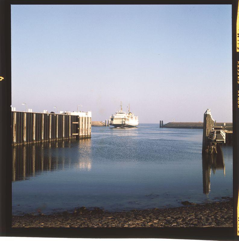 Foto veerboot gemaakt door Jan Wolkers.