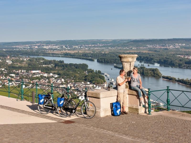 Rheinradweg, heerlijke uitzichten!