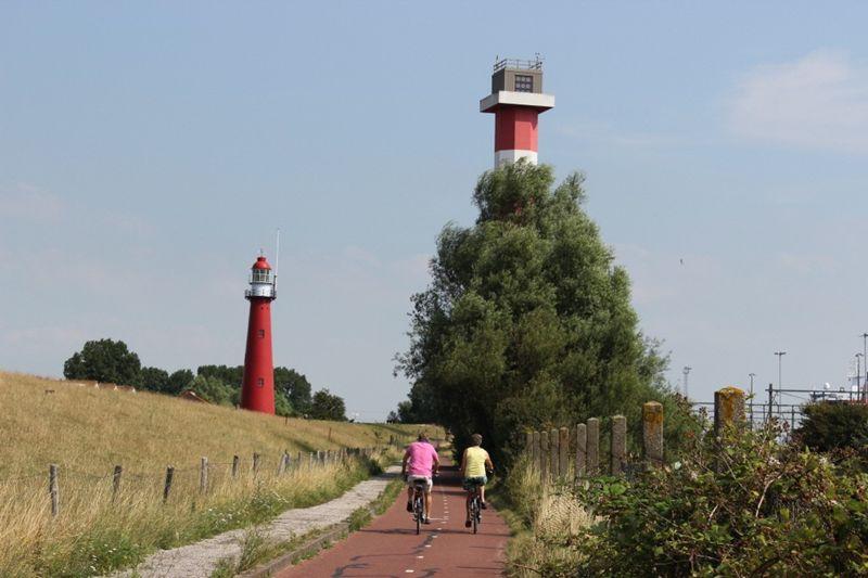 De vuurtoren van Hoek van Holland