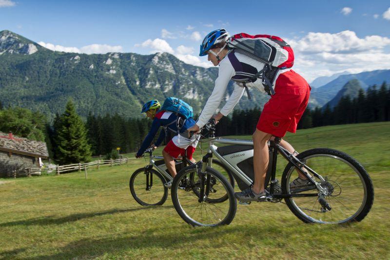 Inzell - Backeralm - sommer familie mountainbiken baeckeralm