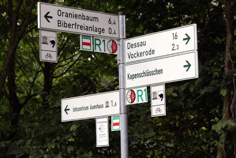 R1 route - Biosphärenreservat Mittelelbe-Oranienbaum-2010