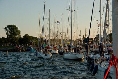700 Boats Entering Medemblik