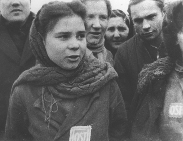 Russische dwangarbeiders in Herkenbosch
