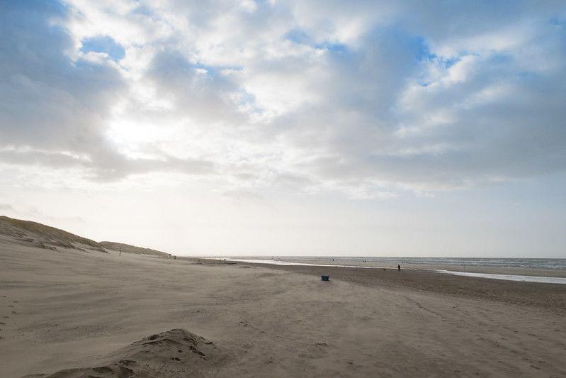 Der Strand in Camperduin