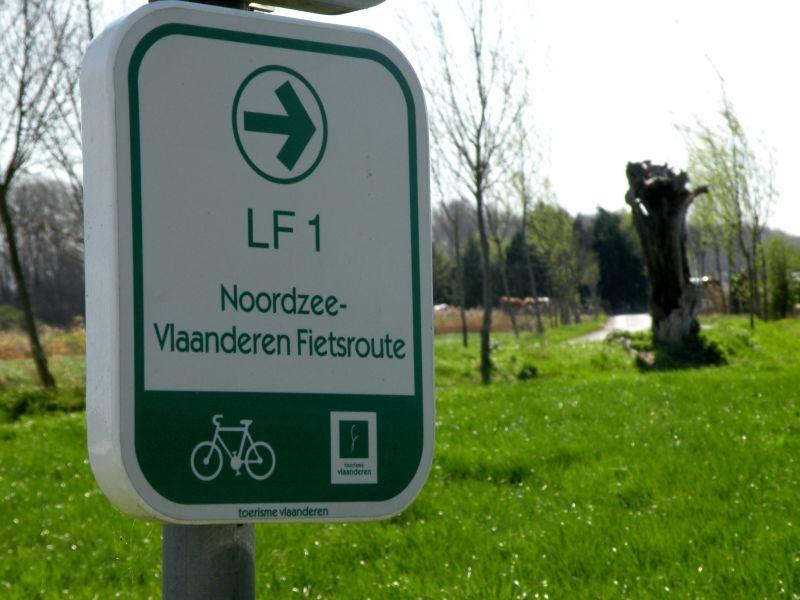 LF 1 Noordzeeroute - Vlaanderen Fietsroute
