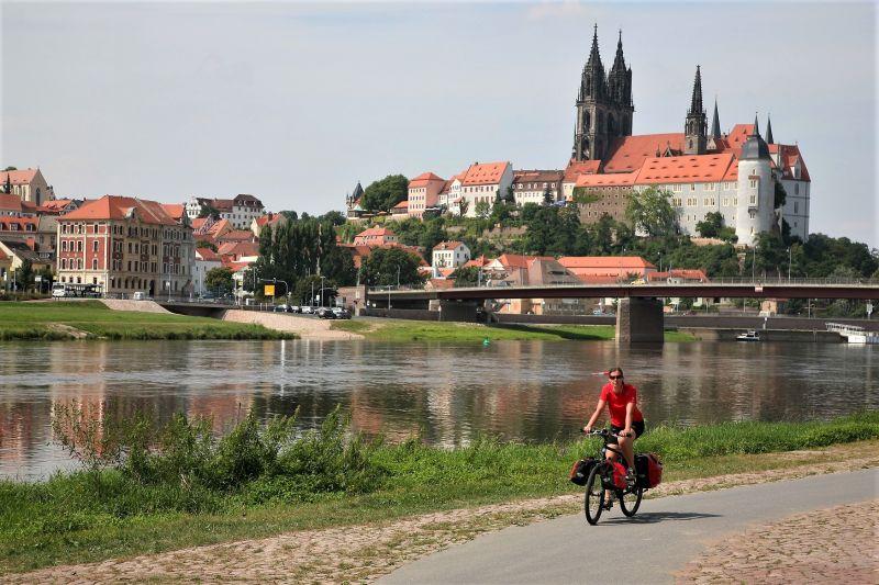 saksische stedentour fiets meissen saksen