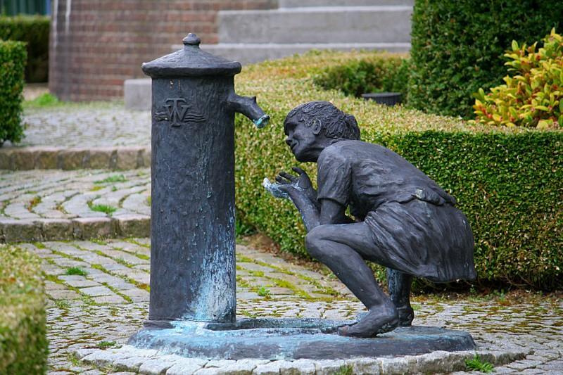 Beeldje watertoren Tilburg