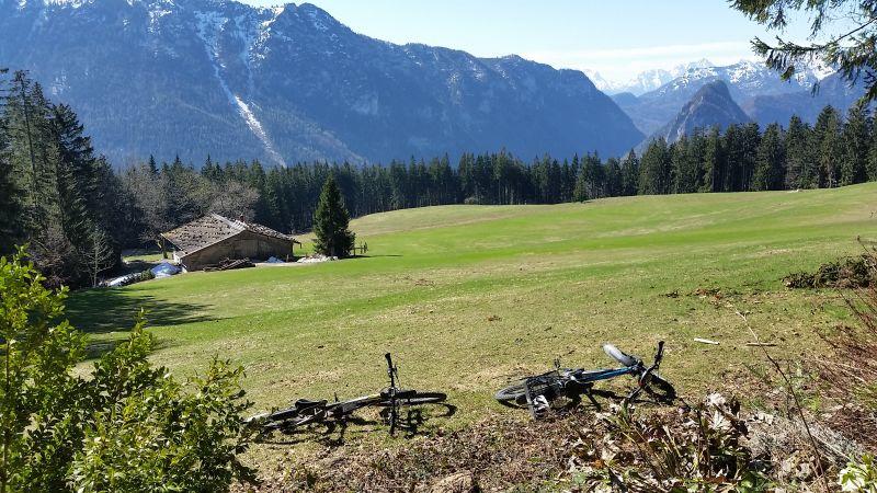Inzell - Backeralm - fruehling panorama baeckeralm berge_ew