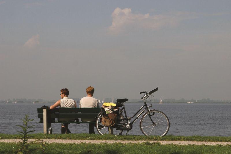 Foto: Fietsroute 'Wetter' in Zuidwest Friesland
