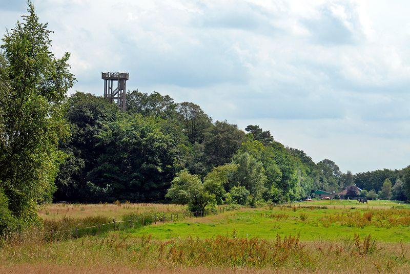 Uitkijktoren, Belvedere Oranjewoud, Friesland, Nederland