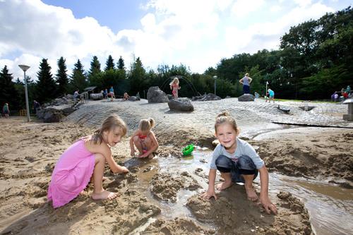 Waterspeeltuin recreatiepark Brasserie Het Genieten