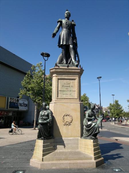 William II statue