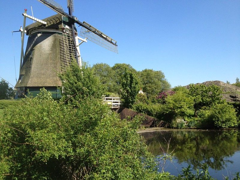 Mill and millpond