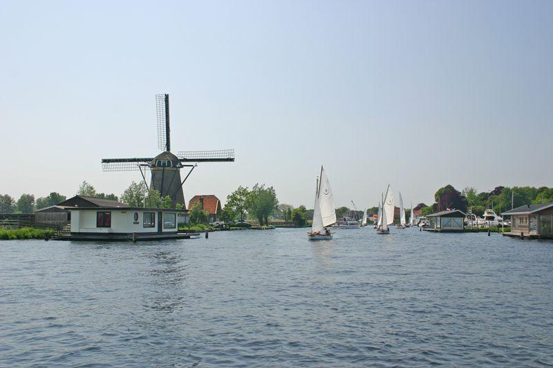 Noordwijk, Leiden en Sassenheim