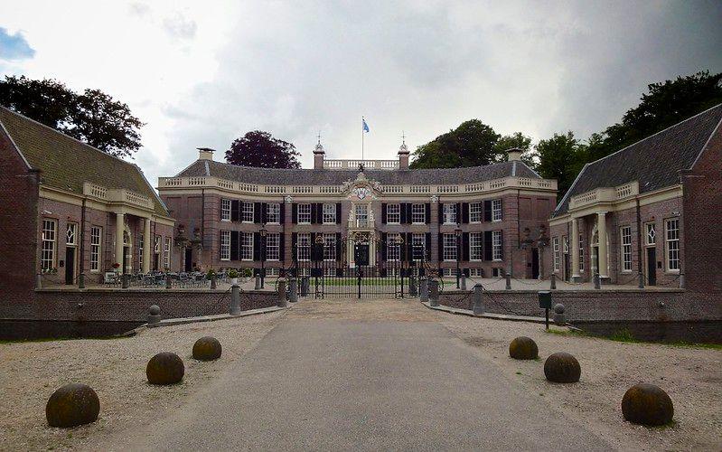 Paseo superior: Castillo Groeneveld y De Vuursche.